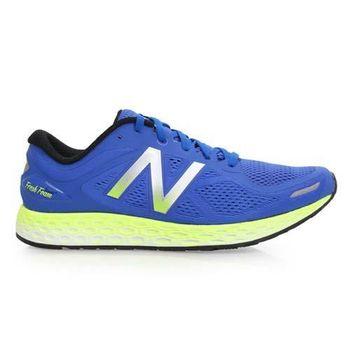 【NEWBALANCE】FRESH FOAM 男慢跑鞋-寬楦 N字鞋 藍螢光黃