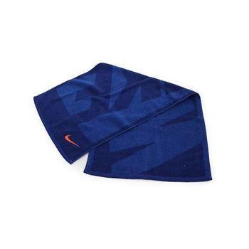 【NIKE】日系圖案盒裝毛巾-純棉 浴巾 游泳 藍橘