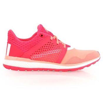 【ADIDAS】ENERGY BOUNCE 2 W 女慢跑鞋- 路跑 桃紅淡粉紅