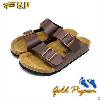 (G.P) 休閒個性柏肯鞋(40-44尺碼)-M341-30 咖啡色三色