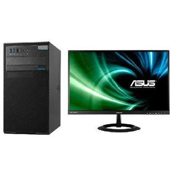 【ASUS華碩】D820MT i7-6700四核 Win7Pro PC+VX229H 21.5吋LCD 組