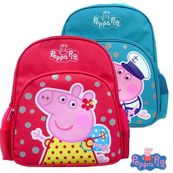 【Peppa Pig 粉紅豬】兒童後背包-幼稚園適(佩佩豬/喬治_PP5753)