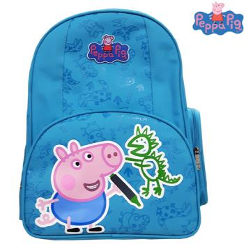 【Peppa Pig 粉紅豬】佩佩豬-喬治護脊書包302C(恐龍款/氣球款_PP-5746)佩佩豬