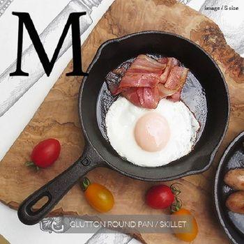 日本 DULTON Glutton Skillets 鑄鐵平底鍋 - M
