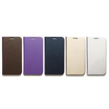 ZENUS SAMSUNG GALAXY S6 金屬風範 書本式皮套