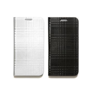 ZENUS SAMSUNG GALAXY S6 金屬格紋 書本式皮套