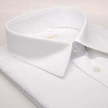 【金安德森】白色短袖襯衫