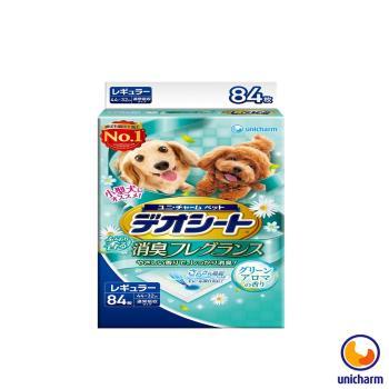 【Unicharm】日本消臭大師 小型犬狗尿墊-森林香 M92 X 1包