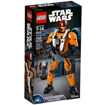 【LEGO 樂高積木】星際大戰 組裝戰士系列 - Poe Dameron LT-75115