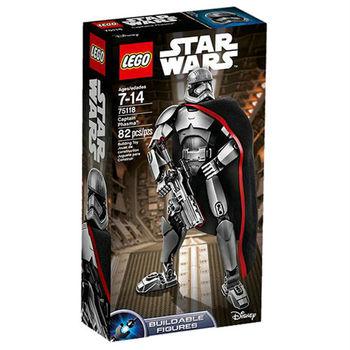 【LEGO 樂高積木】星際大戰 組裝戰士系列 - Captain Phasma LT-75118