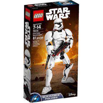 【LEGO 樂高積木】星際大戰 組裝戰士系列 - First Order Stormtrooper LT-75114