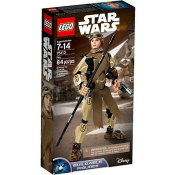 【LEGO 樂高積木】星際大戰 組裝戰士系列 - Rey LT-75113