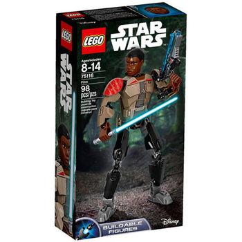 【LEGO 樂高積木】星際大戰 組裝戰士系列 - Finn LT-75116