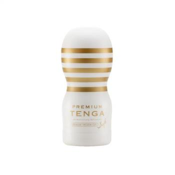 日本TENGA Premium 10周年限量紀念杯 白 TOC-101PS