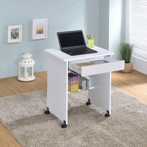 【傢俱屋】單抽屜電腦書桌-兩色