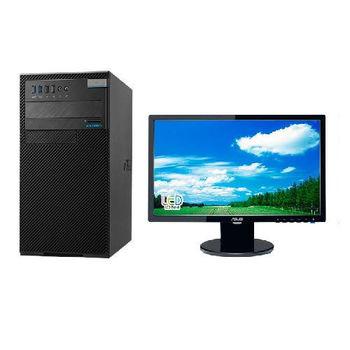 【ASUS華碩】D520MT i3-6100雙核 Win7Pro PC+VE198T 19吋LCD 組
