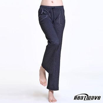Heatwave 機能瑜珈/韻律褲-長褲-墨雅舒放-70223