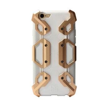 CORESUIT NEWTYPE 輕裝甲金屬飾板+iPhone6 Plus/6s Plus手機殼-金色