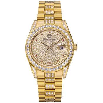 奧林比亞之星 Olympia Star-璀燦晶鑽錶(金色39mm)893291DK