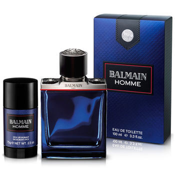 BALMAIN 軍裝搖滾男性淡香水(100ml)-送品牌體香膏