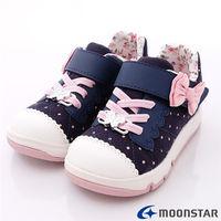 月星Carrot機能童鞋 ^#45 歐式宮廷花樣風 ^#45 CR21435藍 ^#40