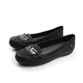 Hush Puppies 娃娃鞋 黑 女款 no953