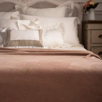 BBL 超纖柔多功能舒眠毯(核果棕)