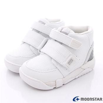 日本月星Carrot機能童鞋-物理師推薦專用矯正鞋-CR21401白(15~21cm)