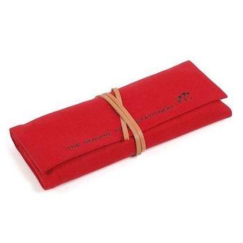 日本 hightide 帆布筆袋 - 紅色