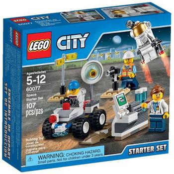 【LEGO 樂高積木】City 城市系列 - 太空探險入門套裝 LT 60077