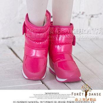 【森之舞】超保暖童鞋-雪地防水防滑靴-預購