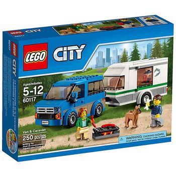 【LEGO 樂高積木】City 城市系列 - 篷車與露營車 LT-60117