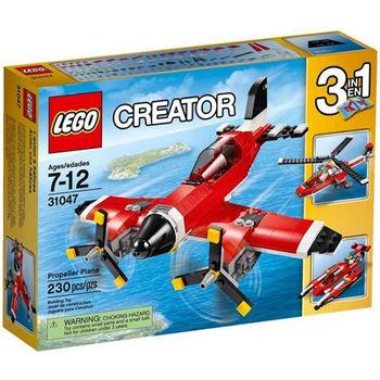 【LEGO 樂高積木】Creator 創意大師系列 - 螺旋槳飛機 LT-31047