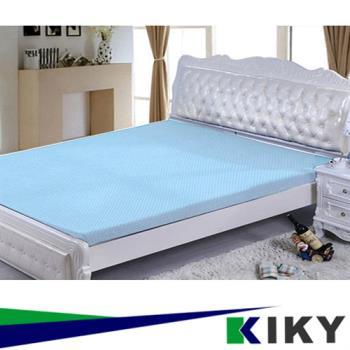 KIKY 3M防蹣抗菌-吸濕排汗暖暖單人3尺5CM記憶床墊