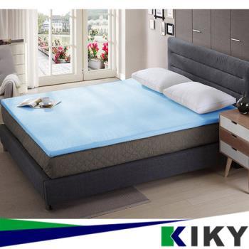 KIKY 3M防蹣抗菌-吸濕排汗暖暖單人3尺4CM記憶床墊