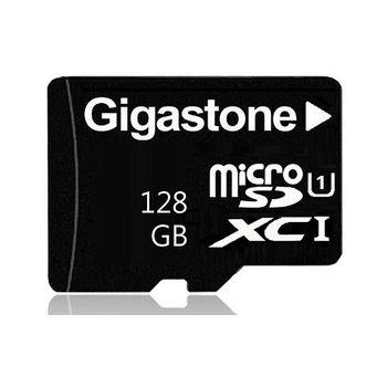 【Gigastone】128GB MicroSDXC C10 UHS-I 高速記憶卡(附轉卡)