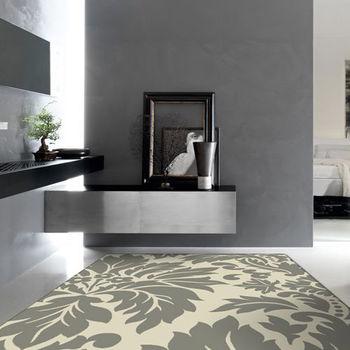 【范登伯格】阿爾發灰色魅力地毯-輝葉-140x200cm