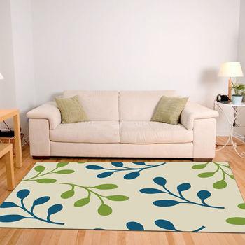 【范登伯格】阿爾發灰色魅力地毯-青葉-140x200cm