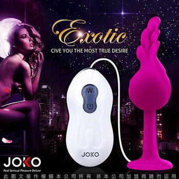 香港JOKO EXOTIC 初調 10段變頻 超強震動跳蛋 紫