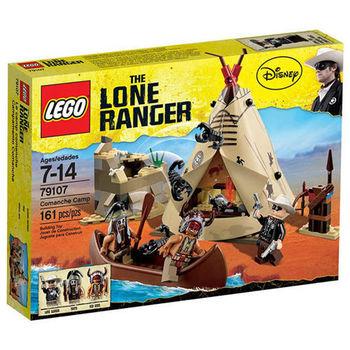 【LEGO 樂高積木】THE LONE RANGER 獨行俠系列 - 科曼奇營地 Comanche Camp LT 79107