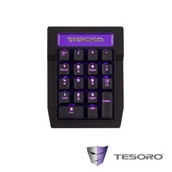 TESORO鐵修羅 TIZONA鐵聖納數字鍵-紅軸