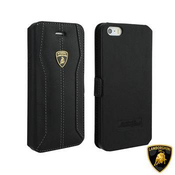 藍寶堅尼 Lamborghini iPhone 6/6S (H-D1)高質感皮套(黑)
