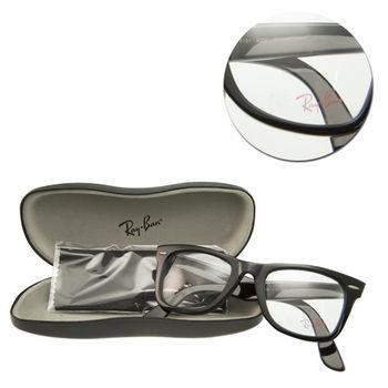 【Ray Ban】粗框黑色光學眼鏡(RB5121-2000)WAYFARER