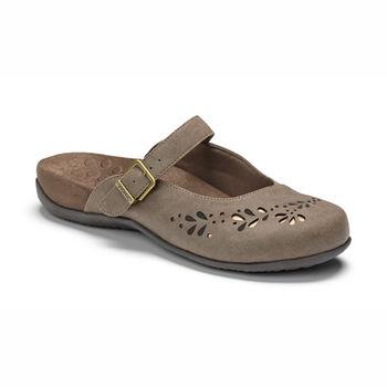 【美國VIONIC法歐尼】健康美體時尚鞋 Midway-米葳(褐色)