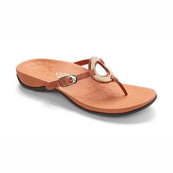 【美國VIONIC法歐尼】健康美體時尚鞋 Karina-卡瑞娜(橘色)