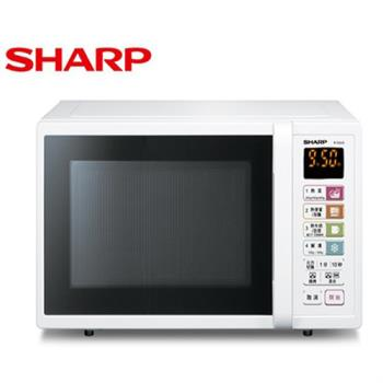 ★環保湯匙★『SHARP』☆夏寶 25L 燒烤 微電腦 微波爐 R-T25JG-W