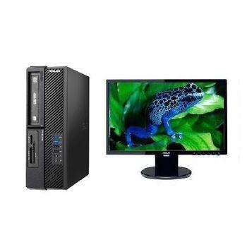 ASUS 華碩 D620SF i5-6500四核 Win7Pro 桌上型電腦+VE198T 19吋電腦螢幕 超值組