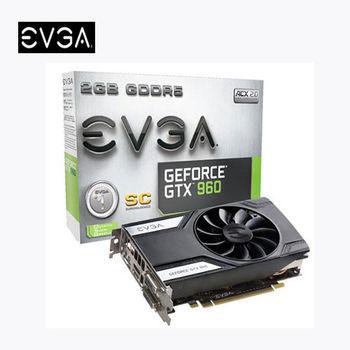 【EVGA 艾維克】GTX960 2GB SC 顯示卡 (02G-P4-2962-KR )