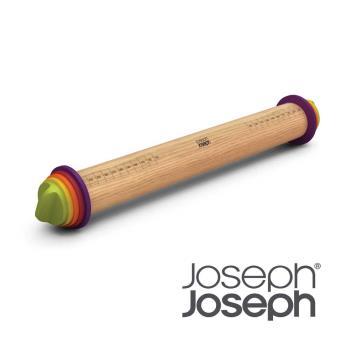 《Joseph Joseph英國創意餐廚》厚度可調桿麵棍(彩色)-20085