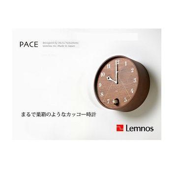 日本 Lemnos PACE 日本圓形咕咕鐘 - 深褐色